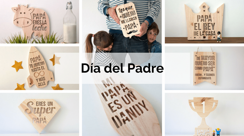 regalos para el dia del padre en madera