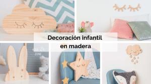 Decoración infantil en madera