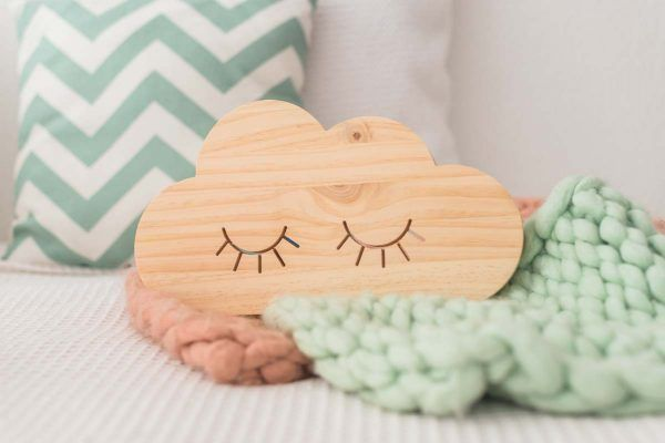 nube de madera decoracion