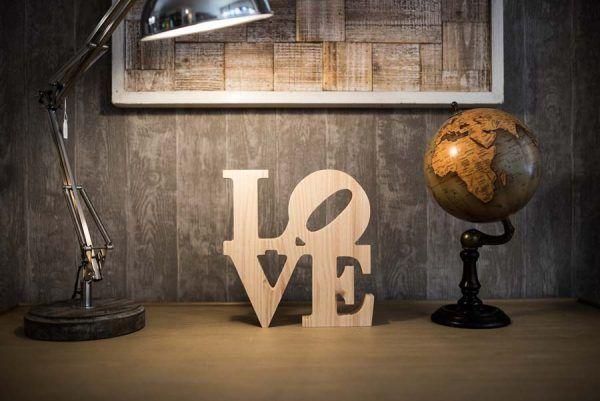 love en madera
