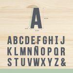 Letras de abecedario 12,50€ unidad