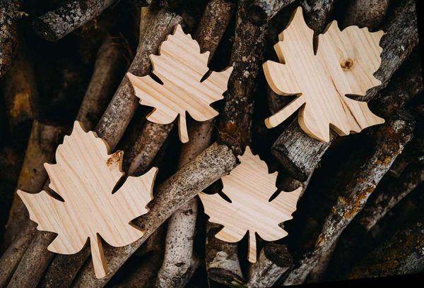 hoja madera